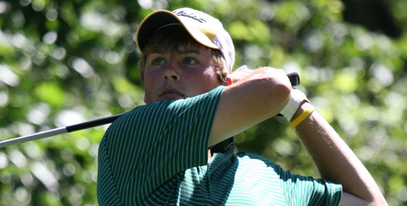 Ihm Takes Boys Division Lead After Second Round