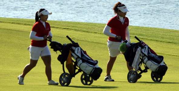 Day 2: Side by Side, Jutanugarns Close the Gap