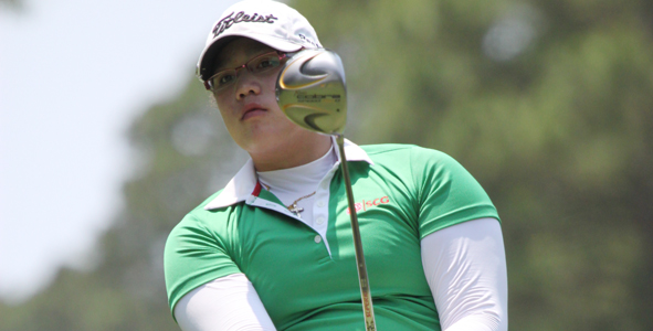 Jutanugarn Surges into Second-Round Lead