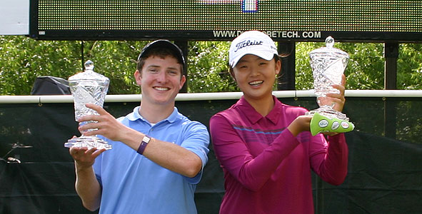 Stephen Behr, Jr. and Simin Feng Champions