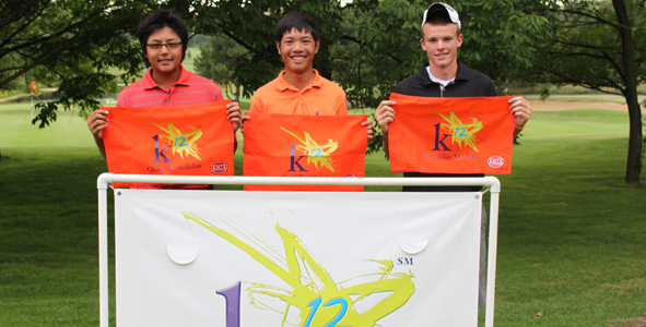 3-Way Boys Division Tie for K12 Medalist Honors
