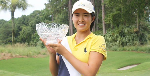 Feng crowned at 2010 Rolex Girls Junior Championship