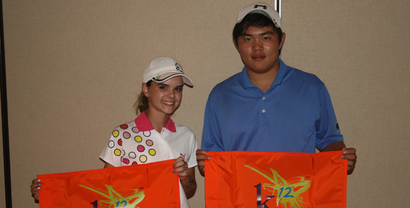 Chen, Gariepy Qualifier Medalists