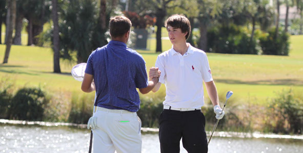 Day 2 Match Play: Garrick ousts 2009 champ Schniederjans