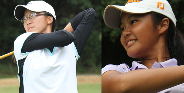 Lin and Sitompul Share Girls Division Lead