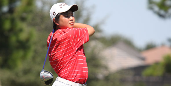Shieh fires 67, takes Boys Division lead