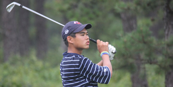 Hwang Takes Control, Wins in 12 Holes