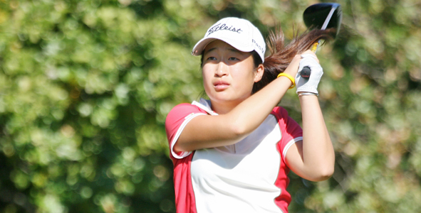 Day 1: Kyung Kim Fires Course Record