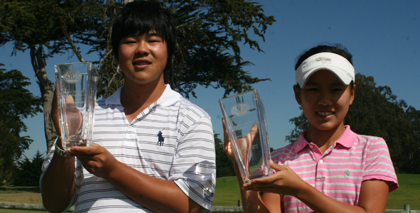 Ree and Luo Win First AJGA Event