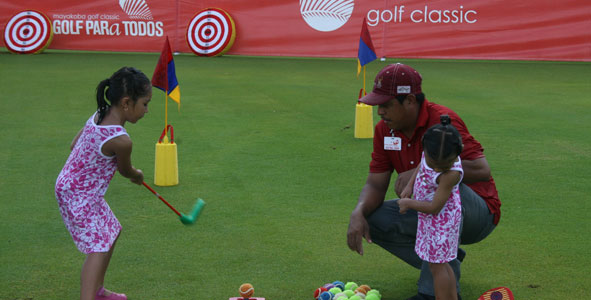 Fun for all ages at Golf PARa Todos