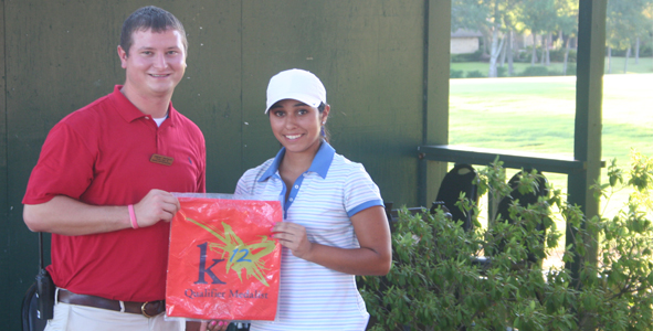 Moreno Strikes Gold on El Dorado Course