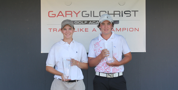Humphrey and White Raise Trophies for First Time