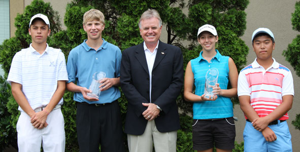 Jaworski, Yowell, Shim and Crutchfield Earn Medalist Honors