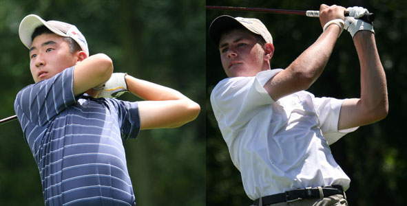 Ghim, Wood Tied for First at 8-under-par 136