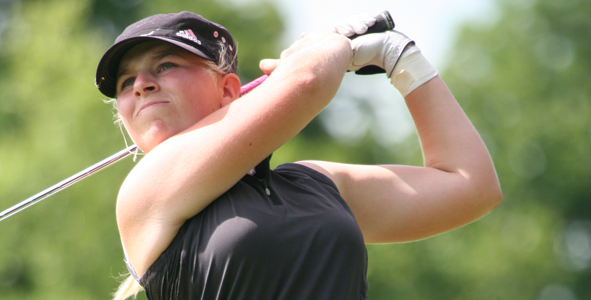 Wagner Leads Girls after First Round