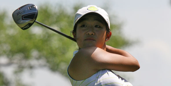 Lee Leads Girls Division at Quarry Oaks
