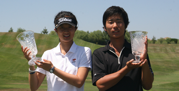 Liu and Cho Named Champions