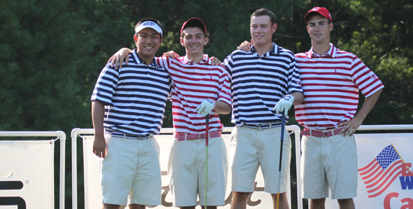 Juniors Sport Their Polo Golf Uniforms