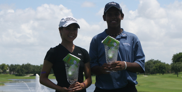 Geminiani and Liu win AJGA Florida Junior