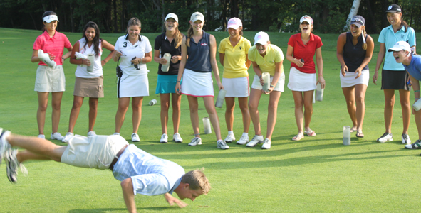 AJGA Staff Provides On-Course Entertainment