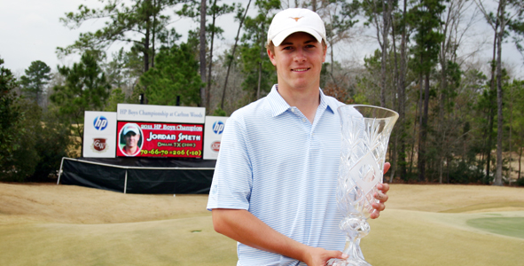 Spieth Caps AJGA Career with Win at HP Boys