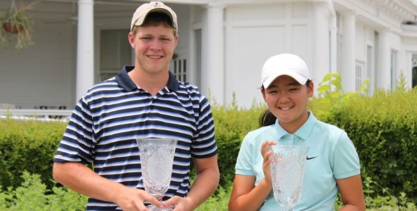 2010 Champs: Huggins, Corpuz earn first victories