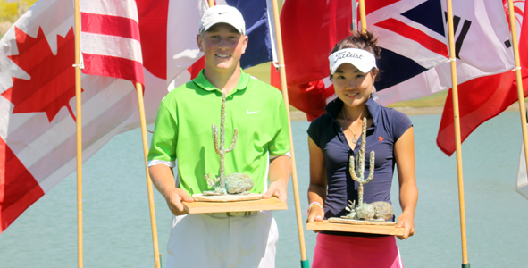 Dalke, Chung claim titles at Thunderbird