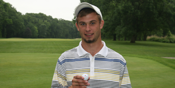 Logan Stauffer Scores Hole-In-One!