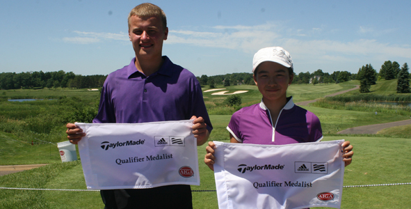 Stanek, Liu Earn Medalist Honors in Qualifier Event
