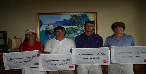 2011 TaylorMade-adidas Golf Qualifier  Medalists
