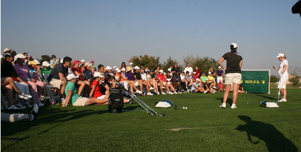 ANNIKA Clinic Sponsored by Rolex draws big crowd