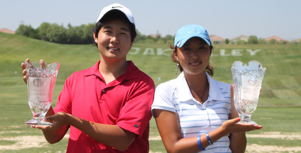 Park, Lee take champion title