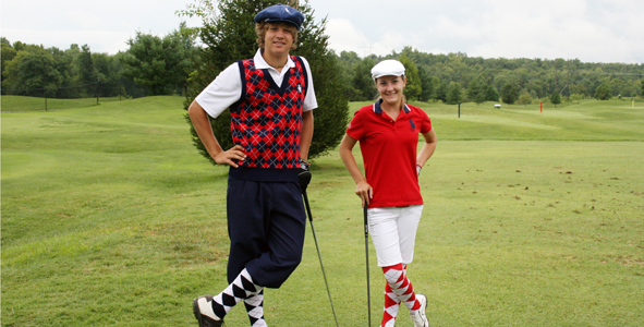 The world's best golfers and best dressed