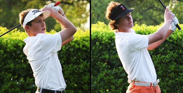 Baxter and Heinen deadlocked atop leaderboard