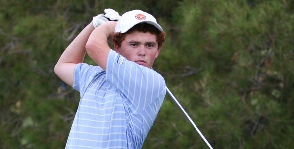 Byford fires 5-under in first round to lead Boys Division