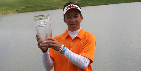 Caparros captures first career AJGA win at Stonelick Hills