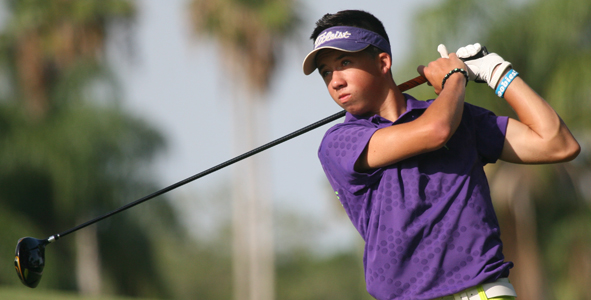 Caparros leads AJGA Florida Junior after first round