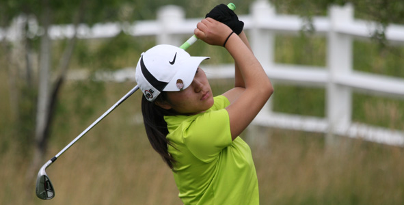 Li takes the lead after second-round