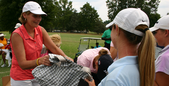 Clinic brings girls together at The Furman Golf Club