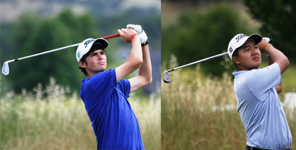 Finnell and Fu lead into final-round