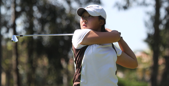 Cho leads, five tied for second in Girls Division