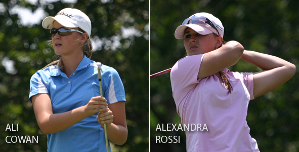Cowan, Rossi tied for Girls Division lead at 7-over-par