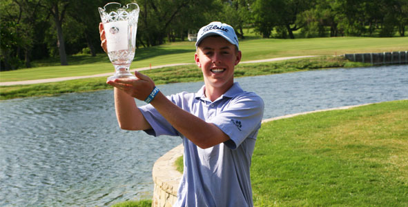 Davis secures victory after three-way sudden-death playoff