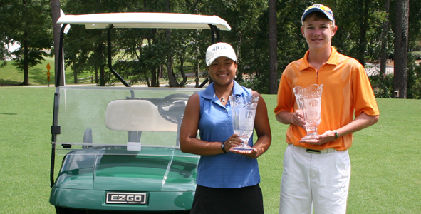 Hoang and Padova win in Augusta