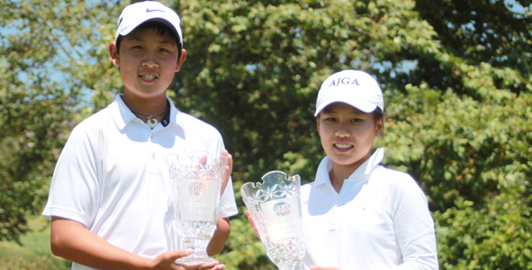 Wu, Luo capture titles