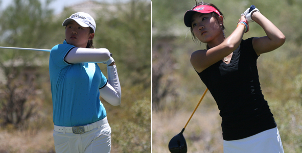 Chung and Feng charge to early lead in Girls Division