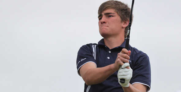 Gann takes two-shot lead into final day