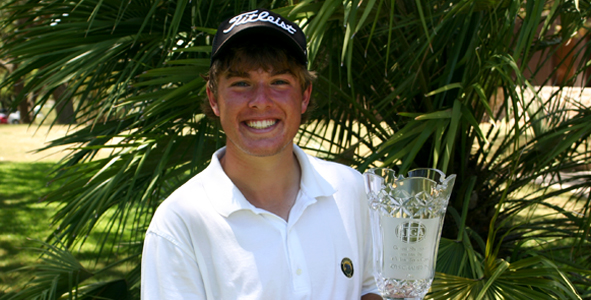 Gilchrest all smiles after first AJGA win