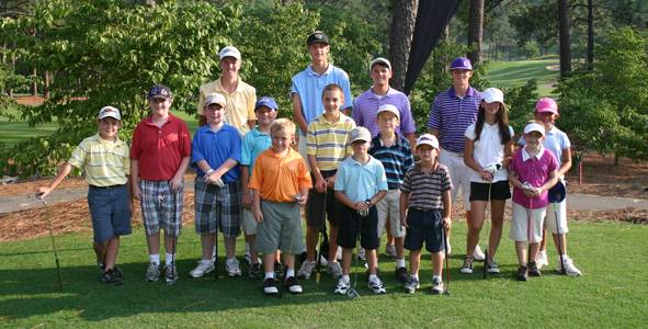 Golf Pride Junior Classic hosts First Tee Clinic