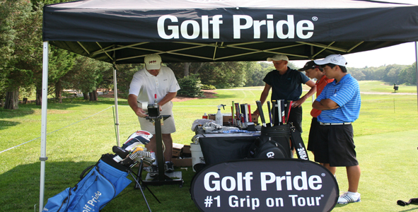 Golf Pride swings by Plymouth